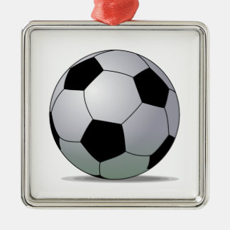 Association Football American Soccer Ball Christmas Ornament