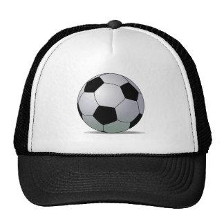 Association Football American Soccer Ball Hat