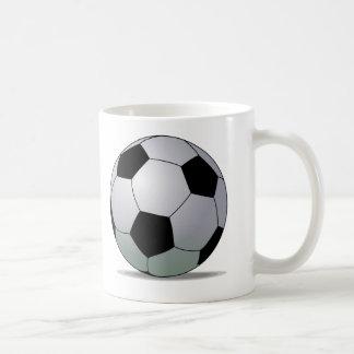 Association Football American Soccer Ball Coffee Mug