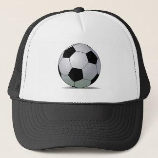 Association Football American Soccer Ball Trucker Hat