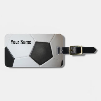 Association Football Soccer Bag Tag