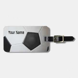 Association Football Soccer Bag Tag