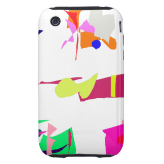 Assorted Abstracts Tough iPhone 3 Covers