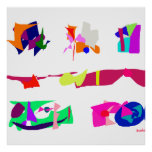 Assorted Abstracts Print