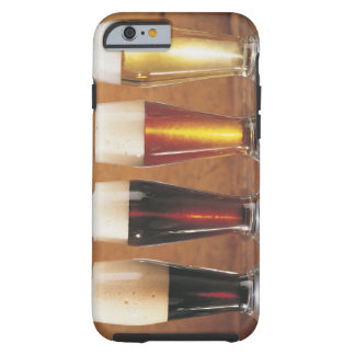 Assorted beers and ales tough iPhone 6 case