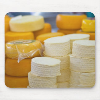 Assorted cheeses mouse mat