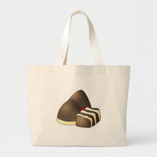 Assorted Chocolate w/ Chocolate Covered Strawberry Tote Bag