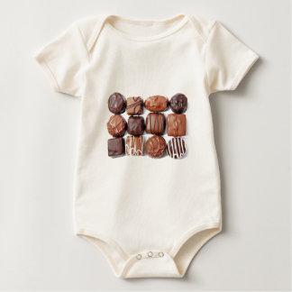 Assorted Chocolates Baby Bodysuit