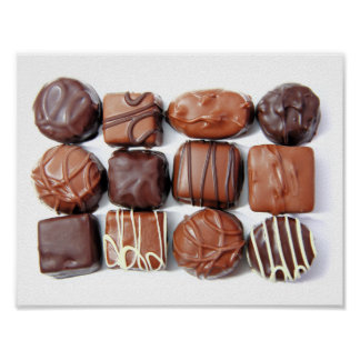 Assorted Chocolates Poster