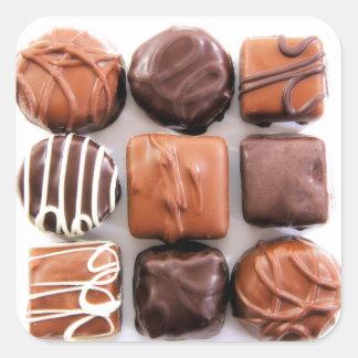 Assorted Chocolates Stickers