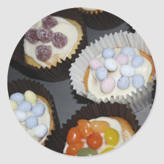 Assorted Cupcake Stickers