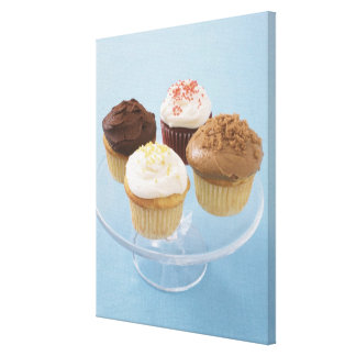 Assorted cupcakes 2 canvas print