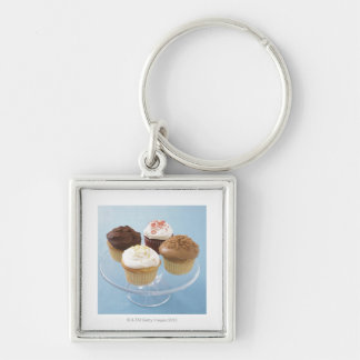 Assorted cupcakes 2 key ring