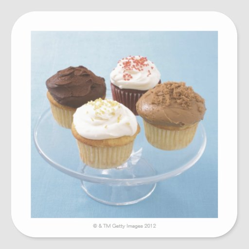 Assorted cupcakes 2 stickers