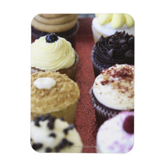 Assorted cupcakes magnet