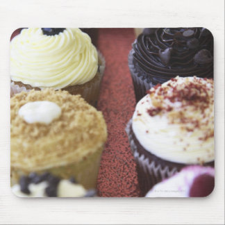 Assorted cupcakes mouse mat