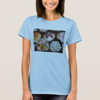 Assorted Cupcakes Womens Fitted Tee Shirt