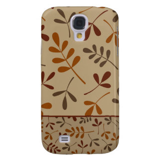 Assorted Fall Leaves Design II Galaxy S4 Case