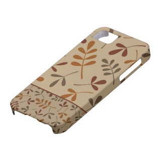 Assorted Fall Leaves Design II iPhone 5 Case