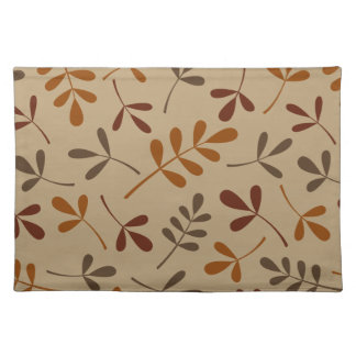 Assorted Fall Leaves Design Placemat