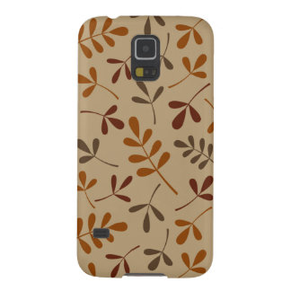 Assorted Fall Leaves Pattern Galaxy S5 Cover