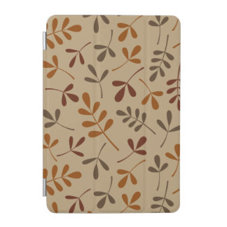 Assorted Fall Leaves Pattern iPad Mini Cover