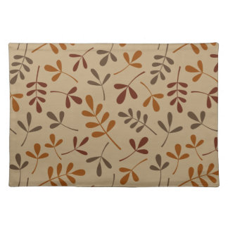 Assorted Fall Leaves Pattern Placemat