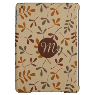 Assorted Fall Leaves Ptn (Personalised) iPad Air Case