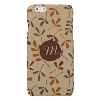 Assorted Fall Leaves Ptn (Personalized) iPhone 6 Plus Case