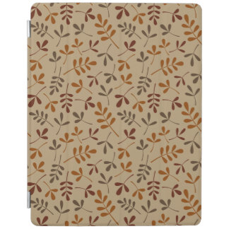 Assorted Fall Leaves Repeat Pattern iPad Cover