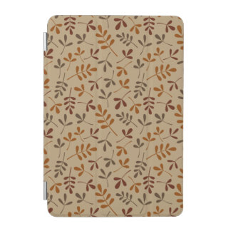 Assorted Fall Leaves Repeat Pattern iPad Mini Cover