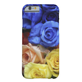 Assorted fresh rose bouquets barely there iPhone 6 case