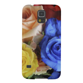 Assorted fresh rose bouquets cases for galaxy s5