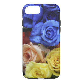 Assorted fresh rose bouquets iPhone 7 case