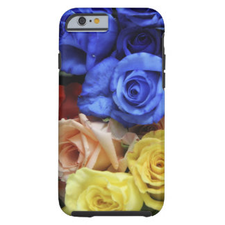 Assorted fresh rose bouquets tough iPhone 6 case