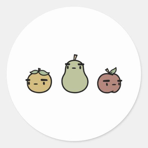 Assorted Fruit Sticker