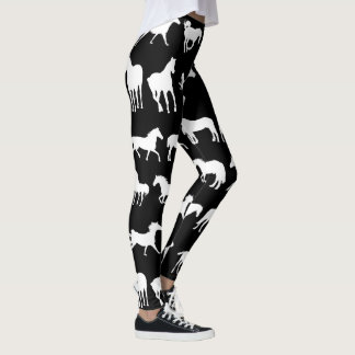 Assorted Horse Breeds Leggings