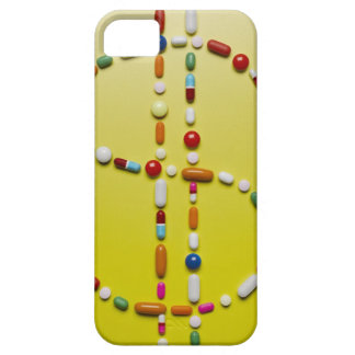 Assorted pills creating dollar symbol barely there iPhone 5 case
