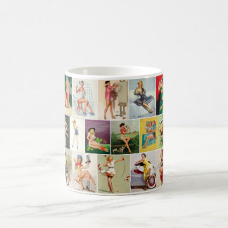 Assorted Pinups Pin Up Art Coffee Mug
