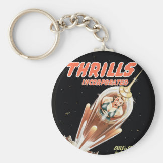 Assorted_Pulp Art Basic Round Button Key Ring