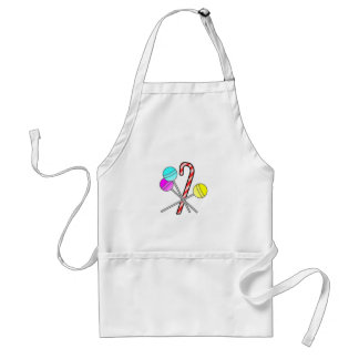assorted sweets design standard apron