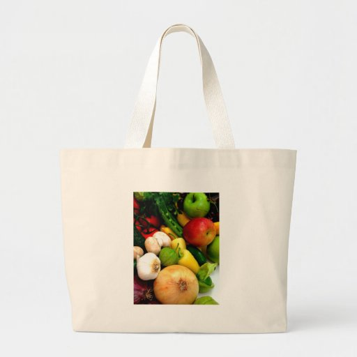 Assorted Vegetables Tote Bags