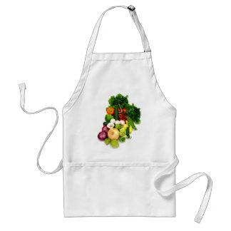 Assorted Vegetables Standard Apron
