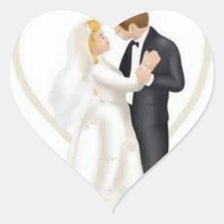 assorted wedding stickers
