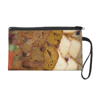 Assortment of Breakfast Breads and Cakes Wristlet Purse