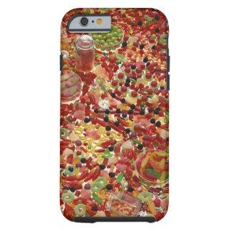 Assortment of candies tough iPhone 6 case