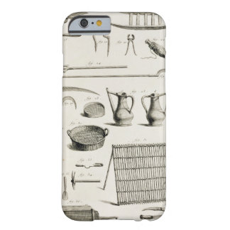 Assortment of gardening tools, from the 'Encyclope Barely There iPhone 6 Case