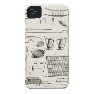 Assortment of gardening tools, from the 'Encyclope iPhone 4 Cases