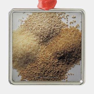 Assortment of grains christmas ornament