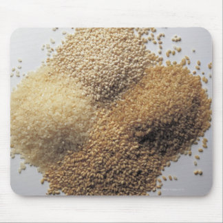 Assortment of grains mouse mat
